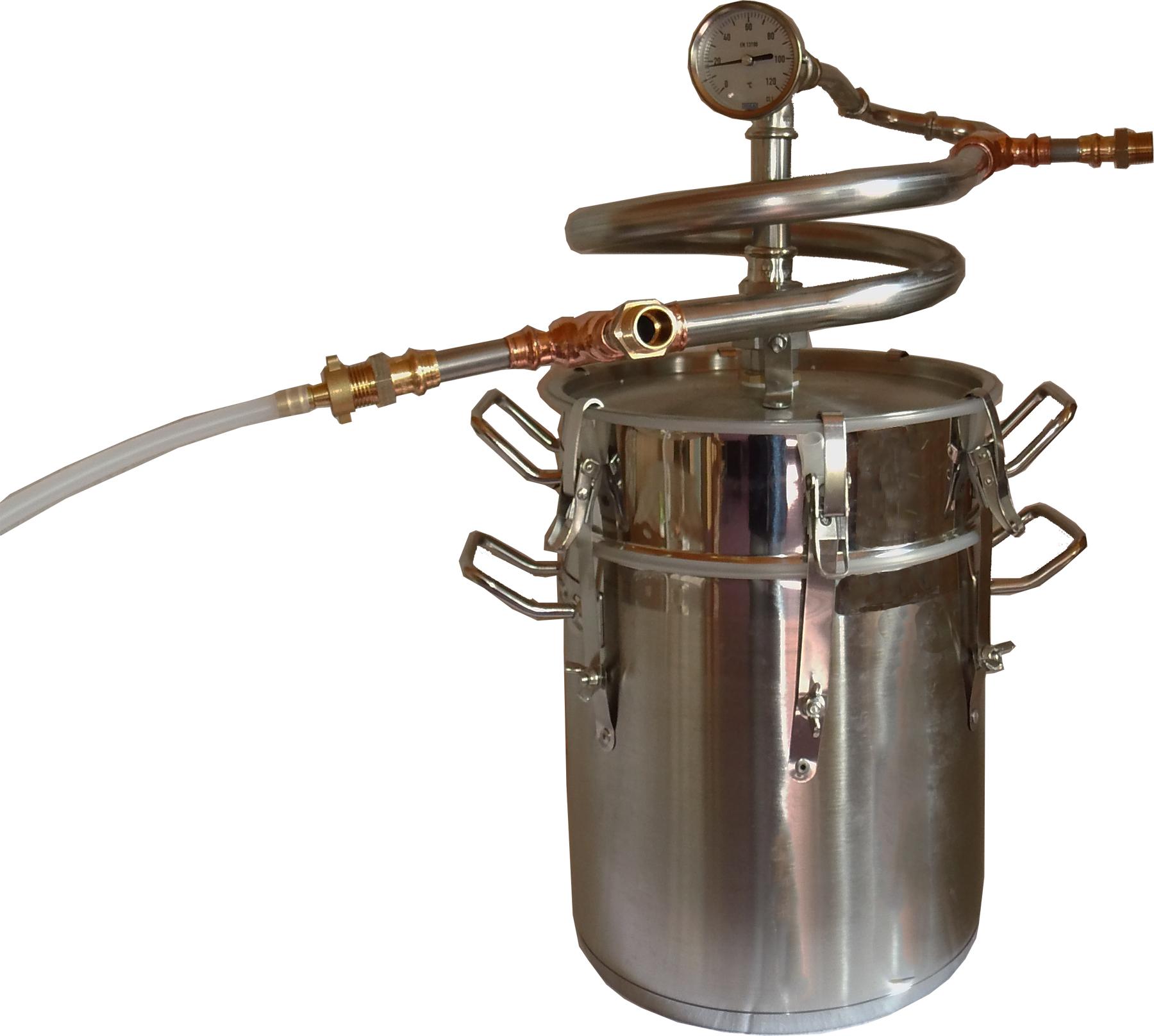 DESTILLIERMEISTER JUNIOR E-2307- Destille für Ätherische Öle