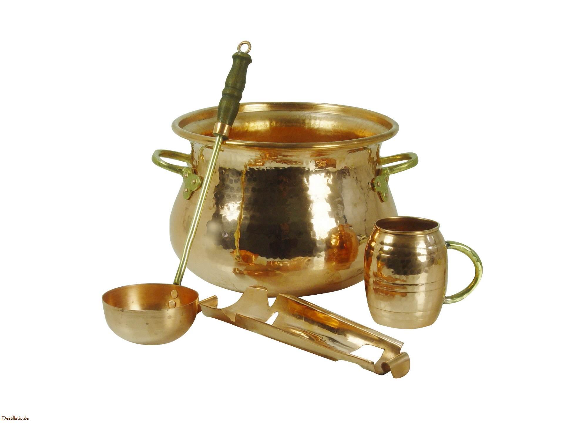CopperGarden SET: Feuerzangenbowle Kupfer [301.101] - €229